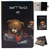 Kindle Paperwhite funda, Gift _ Source [] [Slim Fit] funda de piel sintética piel incorporado ranuras para tarjetas funda para Amazon Kindle Paperwhite 15.2 cm e-reader, A-07-Don't Touch my Phone