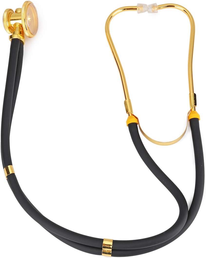 YOUTTOO Estetoscopio de doble cabeza profesional multifuncional médico Fetal ritmo cardíaco Auscultación Dual Tube
