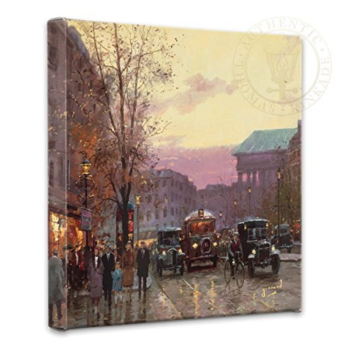 Thomas Kinkade Paris Twilight by as Robert Girrard