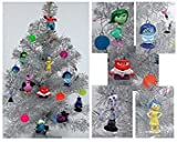 Disney Pixar INSIDE OUT 18 Piece Christmas Ornament Set Featuring, Riley, Sadness, Anger, Fear, Bing Bong, Disgust and Other Figures, Includes 6 Memory Balls, Ornaments Average 1/2 to 2.5 inches Tall