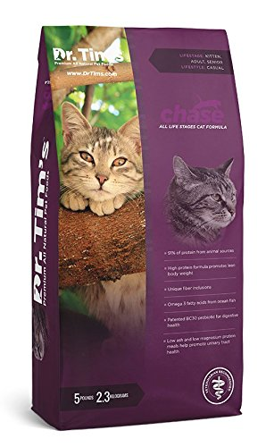 Dr. Tim'S Premium All Natural Pet Food Chase All Life Stages Cat Formula 5#