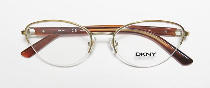 13ad181158 Amazon.com  DKNY 5644 For Ladies Women Cat Eye Half-rim Authentic Must Have  Fashionable Hip Eyeglasses Eye Glasses (51-17-135