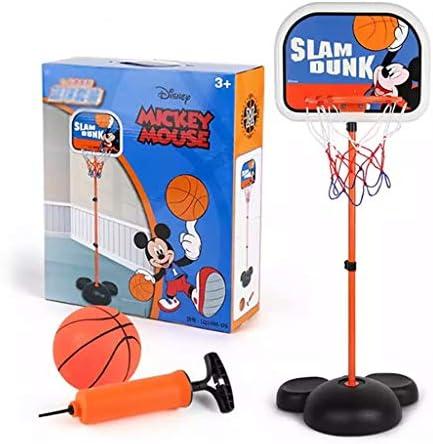 子供のバスケットボールは、赤ちゃんがバスケットバスケットボールフレーム屋内ホームボール子供たちのおもちゃ屋内子供フィットネスおもちゃを撮影昇降可能スタンド