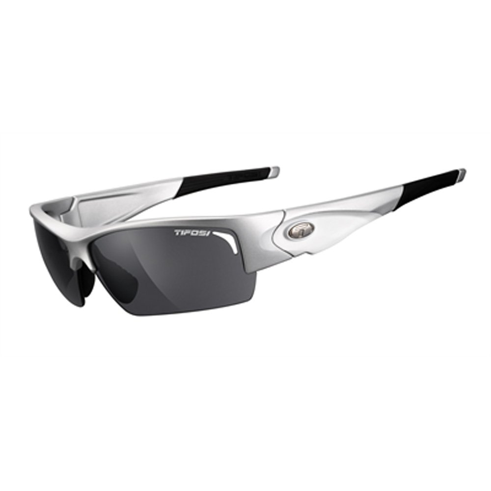 Tifosi Lore 1090106301 Dual Lens Sunglasses,Silver/White,69 mm