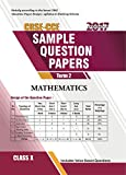 img - for CBSE Sample Question Paper Mathematics Class 10 (2017 Examination) book / textbook / text book