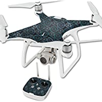 Skin For DJI Phantom 4 Quadcopter Drone – Compass Tile | MightySkins Protective, Durable, and Unique Vinyl Decal wrap cover | Easy To Apply, Remove, and Change Styles | Made in the USA