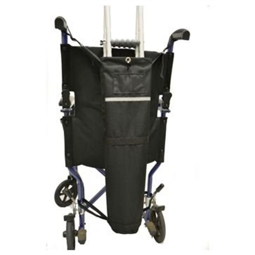 Wheelchair Crutch Carrier(Chairs=with push handles)