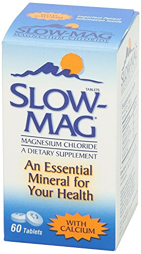 Supplement Magnesium Tablets (Slow-Mag Magnesium Chloride with Calcium, Tablets, 60 tablets)