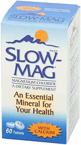 Slow-Mag Magnesium Chloride with Calcium, Tablets, 60 tablets