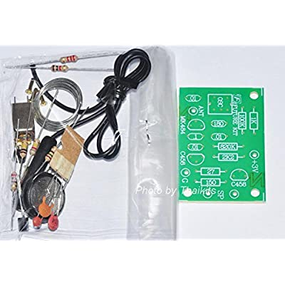 Thaikits Simple AM Radio [Unassembled Kit] for Electronic Student IC MK484: Toys & Games