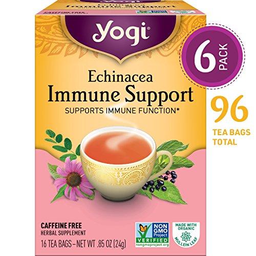 Yogi, Echinacea Immune Support Tea 16 Tea Bags