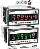 Texmate Tiger DI-60T Controller (2V to 200V DC Input, 85-265V AC Power, 5 Digit, 1/8 DIN Case)