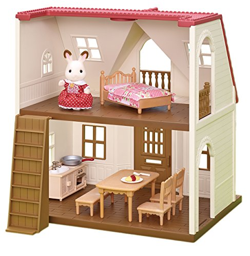 Calico Critters Red Roof Cozy Cottage (Best Dive Log App)