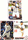 #5: Gleyber Torres Yankees Lot of 3 Pre-Rookie Baseball Cards: 2016 Bowman Draft, 2017 Bowman Prospects, and 2018 Bowman Prospects