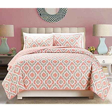51UKhwj1pQL._SS450_ Coral Bedding Sets and Coral Comforters
