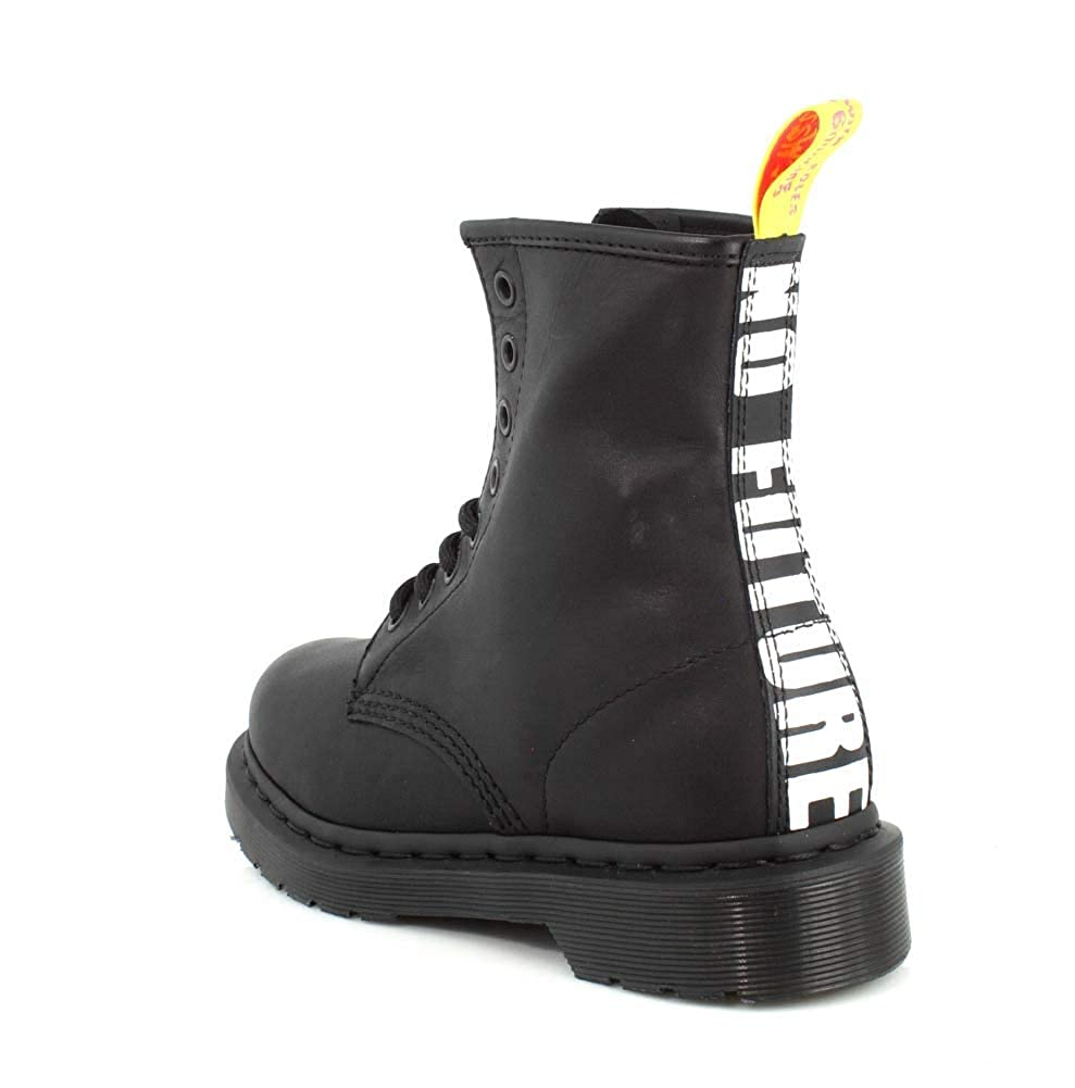 6fe1159b Dr. Martens 1460 Sex Pistols Black Greasy Backhand Boot Black:  Amazon.co.uk: Shoes & Bags