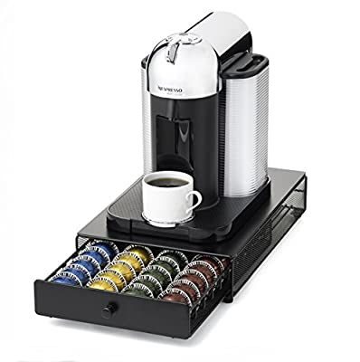 NIFTY 6145 Nespresso Vertuoline Capsule Drawer for Coffee Machines, Black by NIFTY