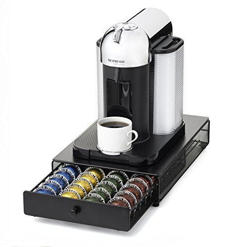 nifty 6145 nespresso vertuoline capsule drawer for coffee. Black Bedroom Furniture Sets. Home Design Ideas