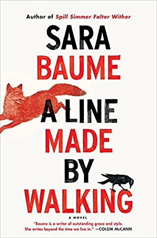 book cover of A Line Made By Walking