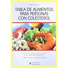 Tabla de alimentos para personas con colesterol (Herakles) (Spanish Edition)