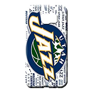 samsung galaxy s6 Attractive Style Snap On Hard Cases Covers mobile phone shells utah jazz nba basketball