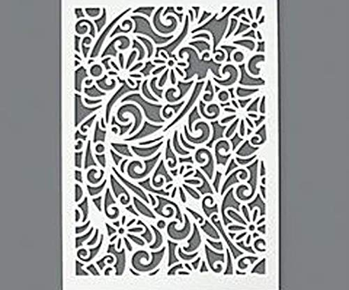 Plastic Template A4 Flowers and Ornaments, Efco, Plastic Royalty Free Cliparts, Vectors, and Stock Illustration