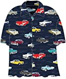 David Carey Tri Five Chevy Mens Button Down Shirt (XL)