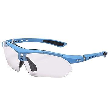 Unisex Sports Sunglasses Set 3 unids Lentes fotocromáticas ...