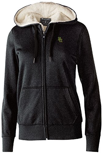 Bears Jacket - Ouray Sportswear NCAA Baylor Bears Women's Artillery Sherpa Jacket, Medium, Black Heather