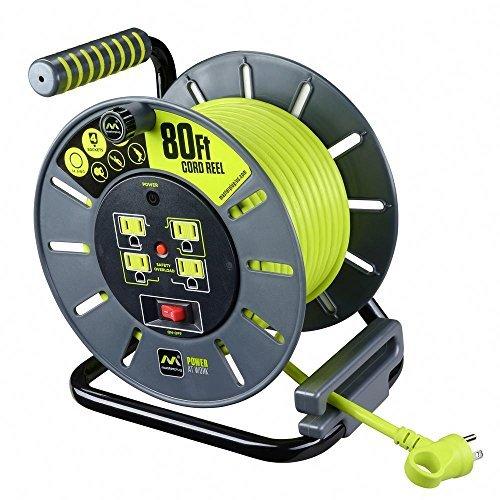 50 amp rv extension cord reel - 8