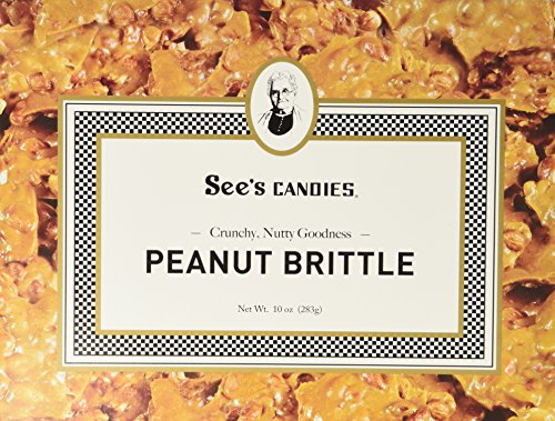 Peanut Brittle Crunchy (See's Candies 10 oz. Peanut Brittle)