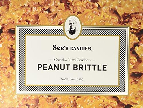 See's Candies 10 oz. Peanut Brittle