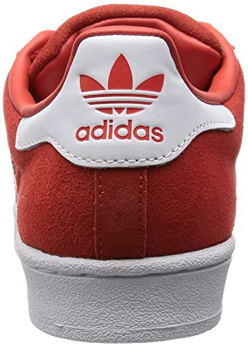 Superstar Blanc Adidas En Haut Originals Daim Rouge Bas Hommes wHgxBPqf