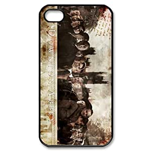 Downton Abbey Protective TPU Snap On Case (Black, White) For Iphone 4 4s