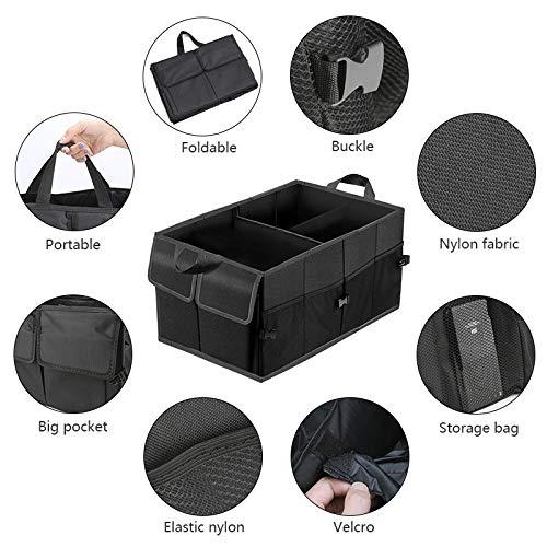 Kofferraumtasche Color You Kofferraum-Organizer Faltbar Auto Kofferraum Organizer Autotasche Auto Kofferraum Box Praktisch und Wasserdicht