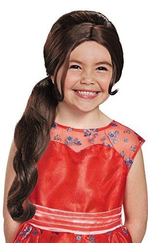 Girl's Disney Princess Elena Wig Child Halloween Costume Accessory