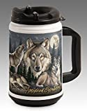 american expedition thermal mug - American Expedition TM24-306 Thermal Mug, Gray Wolf Collage, 24 oz., Multi-Color