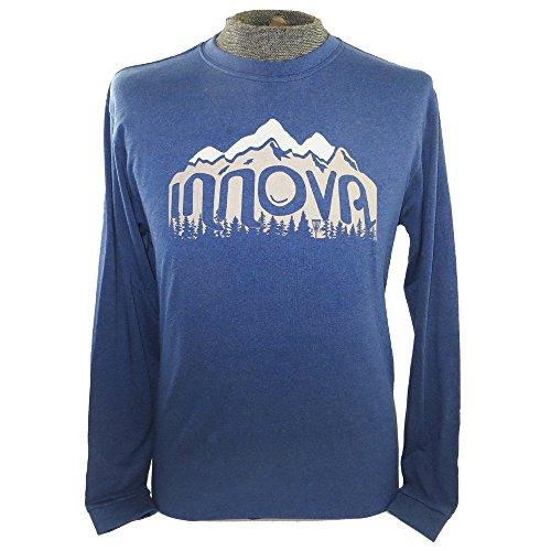 Innova Wilderness Long Sleeve Disc Golf T-Shirt - Blue - - Golf Lst