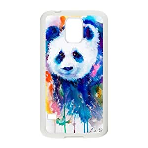 Custom Colorful Case for SamSung Galaxy S5 I9600, Panda Cover Case - HL-R655013