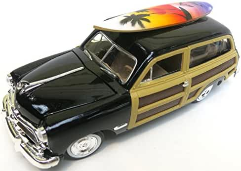 California Surf Board with Woody Car, Large Size 8