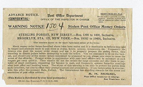 Amazon com: Crime Notice - Post Office - San Francisco