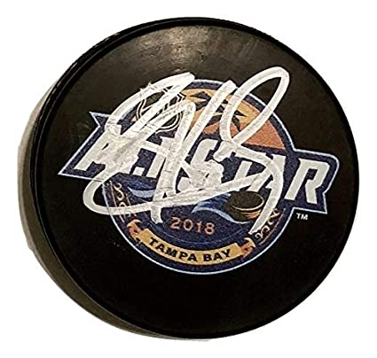 SIDNEY CROSBY AUTOGRAPHED Hand SIGNED 2018 ALL-STAR Puck Pittsburgh ... dac8cb10190