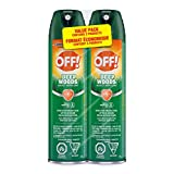 OFF! Deep Woods Insect Repellent, 2 pack Value Pack