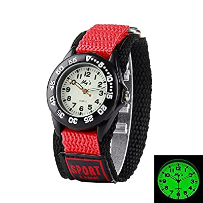 Misskt Outdoors Watch with Velcro Strap Children Kids Watches Outdoor Sports Boy Girl Waterproof Watches from Misskt