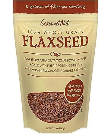 Amazon.com: 100% de grano entero planta de lino de linaza ...