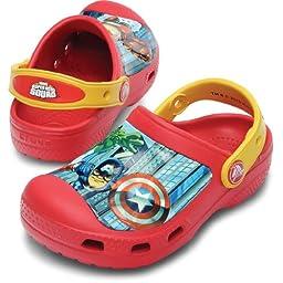 Crocs Marvel Avengers II Clog (Toddler/Little Kid),8-9 M US Toddler
