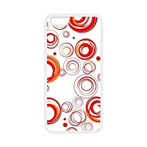 Colorful circles Custom Case for iPhone6 4.7 (Laser Technology)
