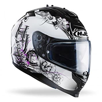Casco Hjc Is-17 Barbwire Negro/Rosa/Blanco T-M
