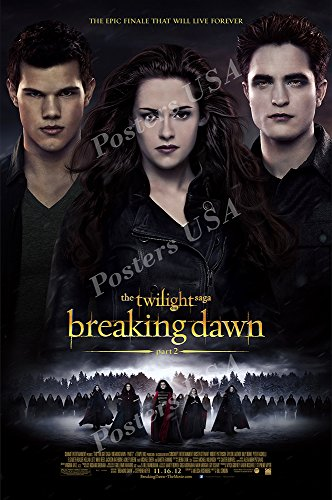 """Posters USA - The Twilight Saga Breaking Dawn Part 2 Movie Poster GLOSSY FINISH- MOV822 (24"""" x 36"""" (61cm x 91.5cm))"""