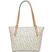 Calvin Klein Women's Handbag, H2RAJ155 AKE:ALMD/KHK/CAMEL